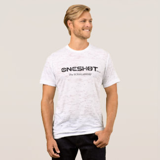 2017-ONESHOT Scholarship Men's burnout t-shirt