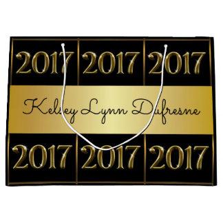 2017 Personalised Graduation Large Gift Bag