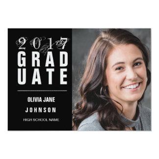 2017 Photo Graduation Announcement