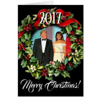 2017 President Donald Trump & Melania Christmas Card