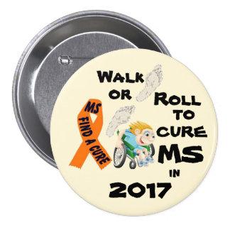 2017 Ro1l Walk Cure 7.5 Cm Round Badge