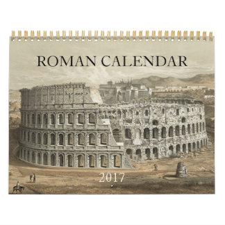 2017 ROMAN CALENDARS