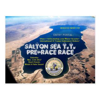 2017 SALTON SEA T.T. PRE-RACE RACE POSTCARD