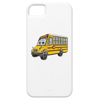 2017 School Bus Cartoon Barely There iPhone 5 Case