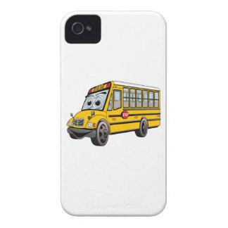 2017 School Bus Cartoon Case-Mate iPhone 4 Case