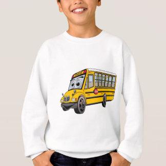 2017 School Bus Cartoon Sweatshirt
