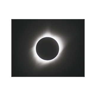2017 Solar Eclipse – Corona Canvas Print