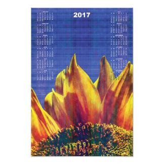 2017 Sunflower Calendar Photo Art