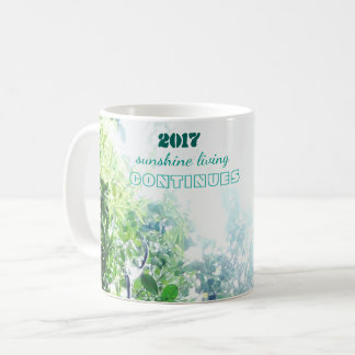 2017-sunshine living continues coffee mug