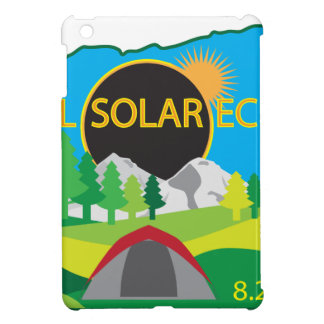 2017 Total Solar Eclipse Camping Trip Map Case For The iPad Mini
