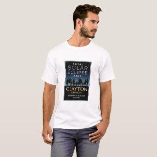 2017 Total Solar Eclipse - Clayton, GA T-Shirt