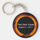 2017 Total Solar Eclipse Key Ring