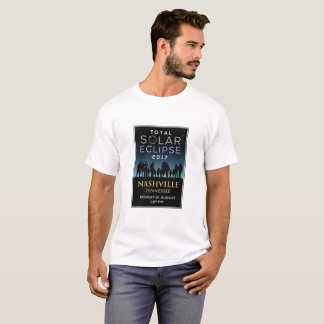 2017 Total Solar Eclipse - Nashville, TN T-Shirt