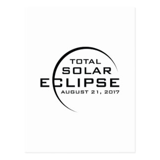 2017 Total Solar Eclipse Postcard