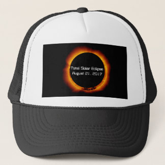 2017 Total Solar Eclipse Trucker Hat