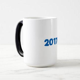 2017 U can change TEXT STYLE and TEXT COLOR Magic Mug