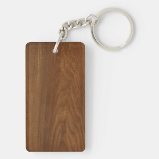 2017 WALNUT American Wood Texture Flavor Key Ring