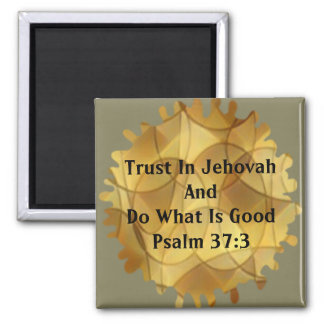 2017 Yeartext (Psalm 37:3) Magnet