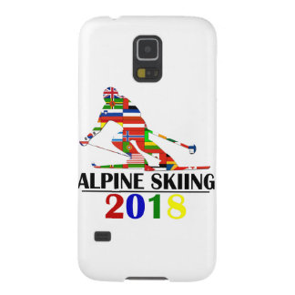 2018 ALPINE SKIING GALAXY S5 COVER