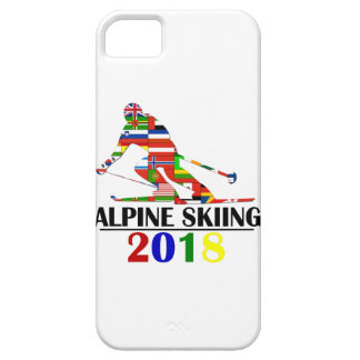 2018 ALPINE SKIING iPhone 5 COVER