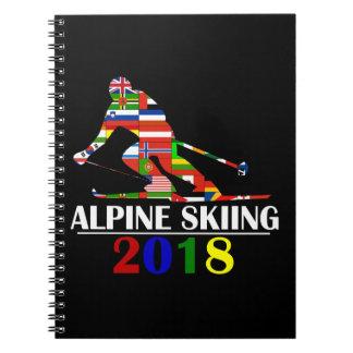 2018 ALPINE SKIING NOTEBOOKS