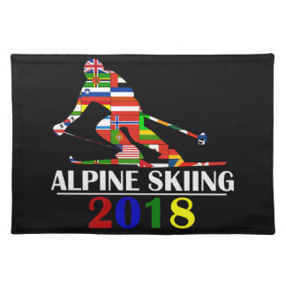 2018 ALPINE SKIING PLACEMAT