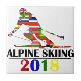 2018 ALPINE SKIING TILE