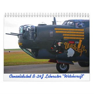 2018 B-24J Liberator Calendar
