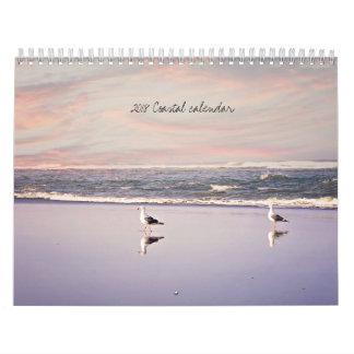 2018 Beach calendar