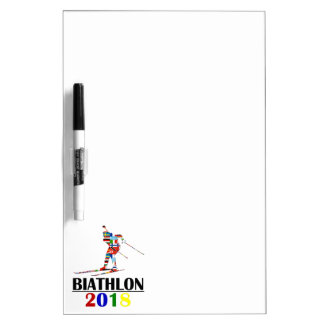 2018 BIATHLON DRY ERASE BOARD