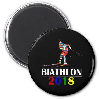 2018 BIATHLON MAGNET