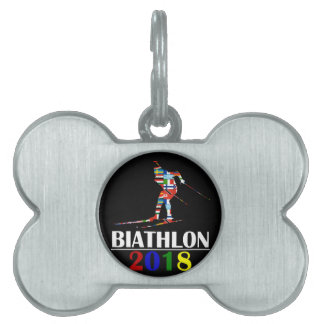 2018 BIATHLON PET ID TAG
