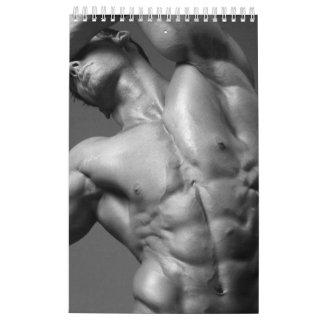 2018 Bodybuilding Abs Inspiration Calendar