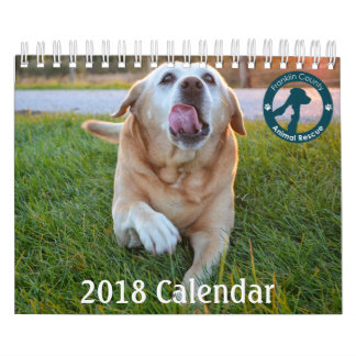 2018 Calendar Supports Franklin Co. Animal Rescue