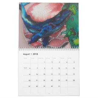 2018 calender wall calendar