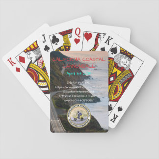 2018 California Coastal Cannonball Playing Cards
