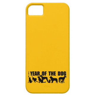 2018 Chinese New Year of The Dog Yellow iPhone C iPhone 5 Covers
