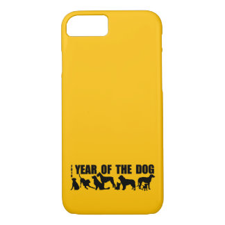 2018 Chinese New Year of The Dog Yellow iPhone C iPhone 8/7 Case