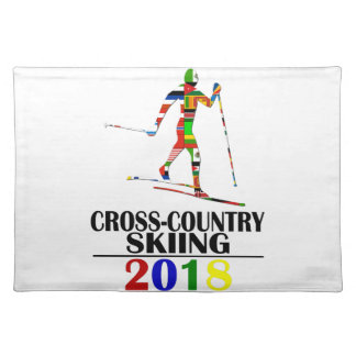 2018 CROSS-COUNTRY SKIING PLACEMAT