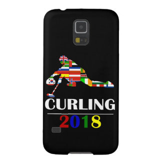 2018 CURLING GALAXY S5 CASE
