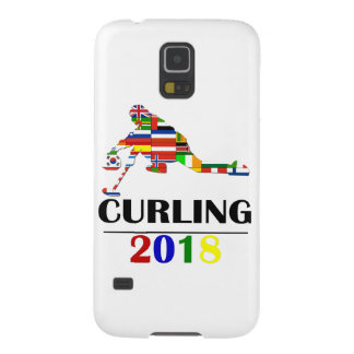 2018 CURLING GALAXY S5 COVER