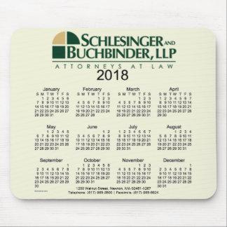2018 Custom Design Business Calendar by Janz Mouse Pad