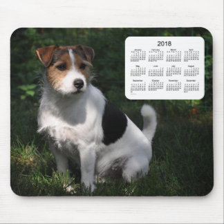 2018 Dog Calendar by Janz Jack Russell Terrier Mouse Pad