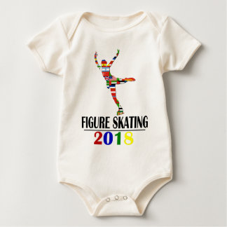 2018 FIGURE SKATING BABY BODYSUIT