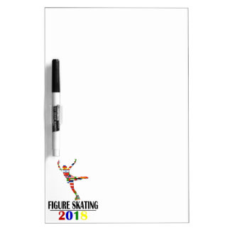 2018 FIGURE SKATING DRY ERASE BOARD