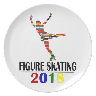 2018 FIGURE SKATING PLATE
