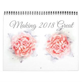 2018 Flowers in Bloom Calendar