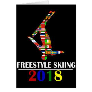 2018 FREESTYLE SKIING CARD