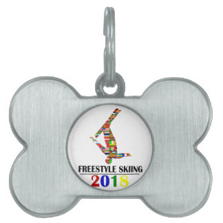 2018 FREESTYLE SKIING PET ID TAG