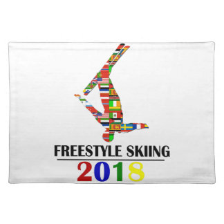 2018 FREESTYLE SKIING PLACEMAT